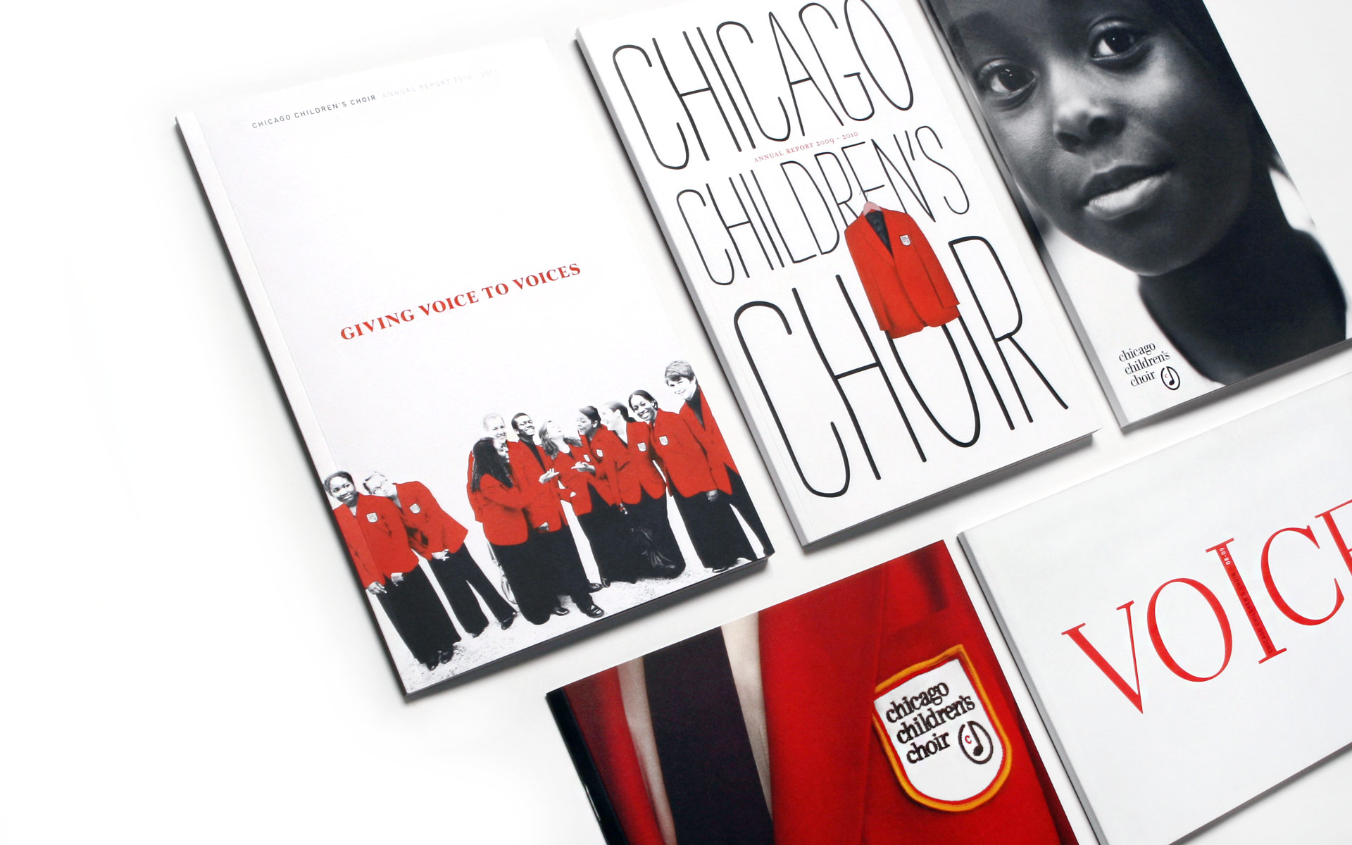 Chicago Children's Choir Printed Promotion