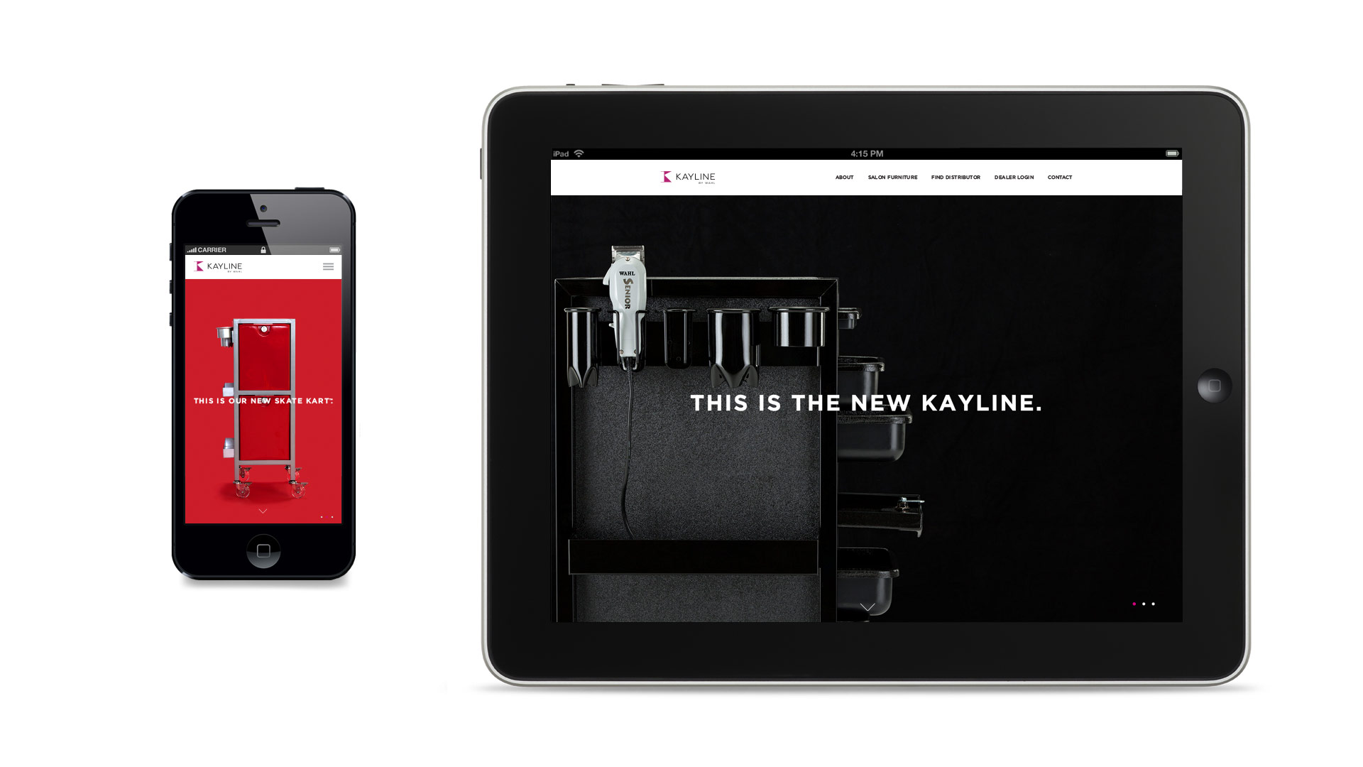 Kayline website