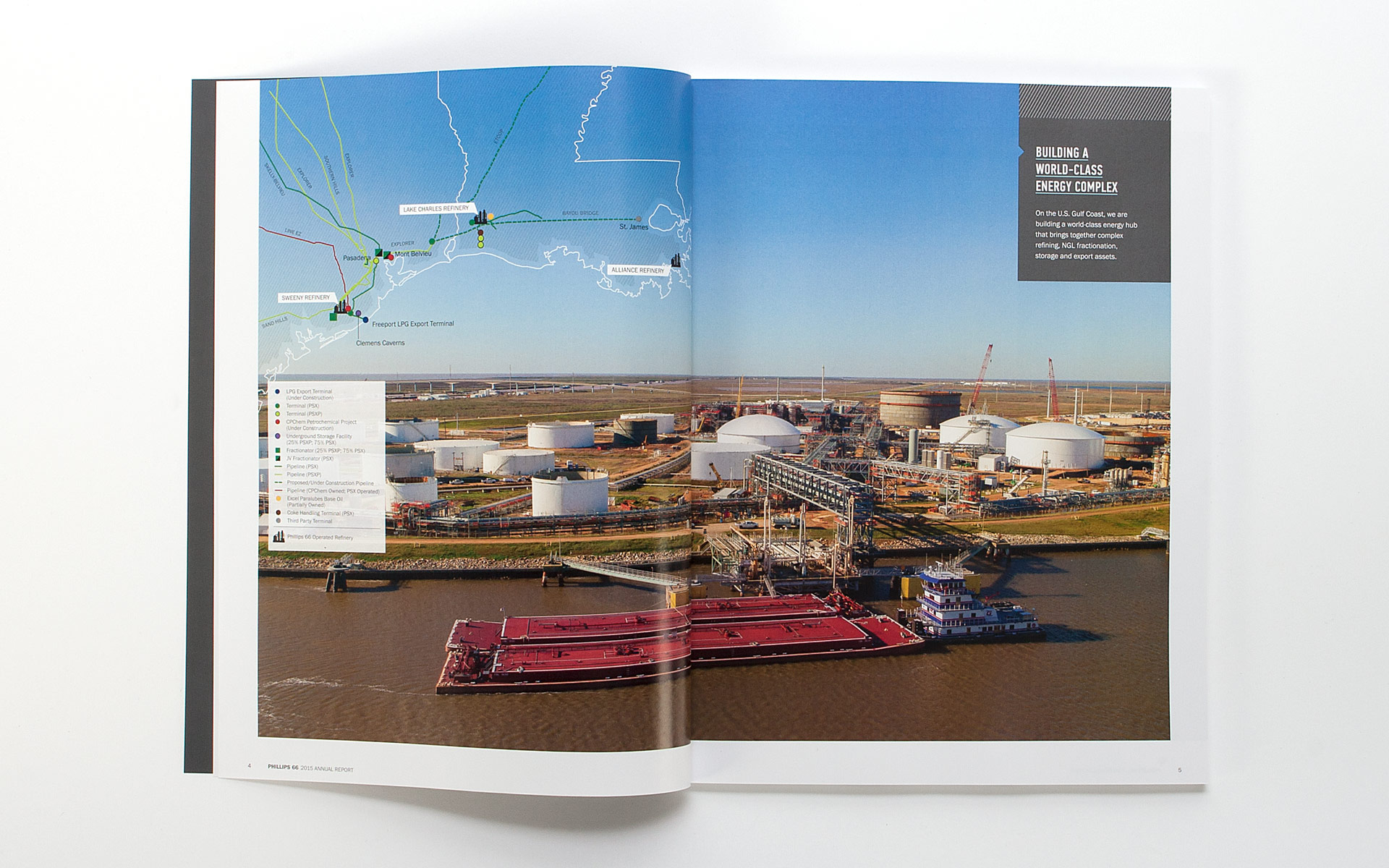 Phillips 66 2015 Annual Report spread 3
