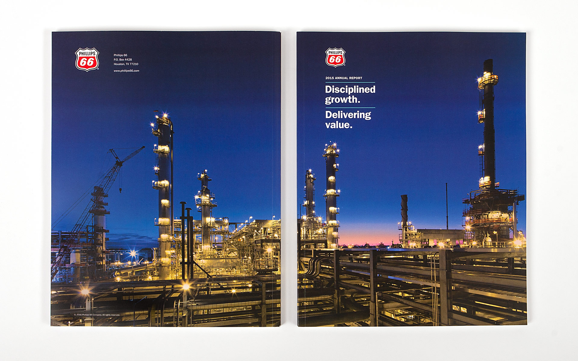 Phillips 66 2015 Annual Report spread 1