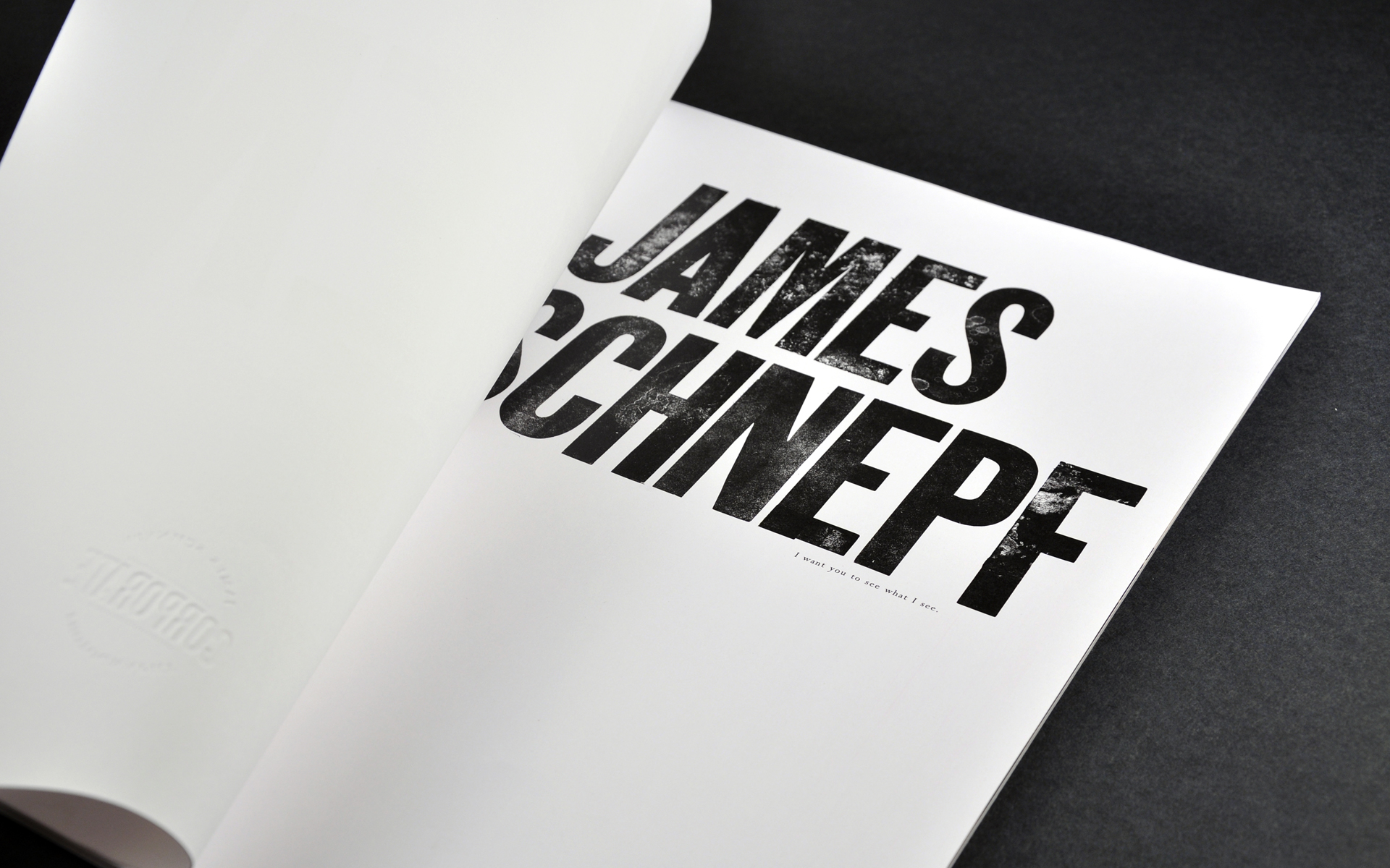 James Schnepf Photo Book 1
