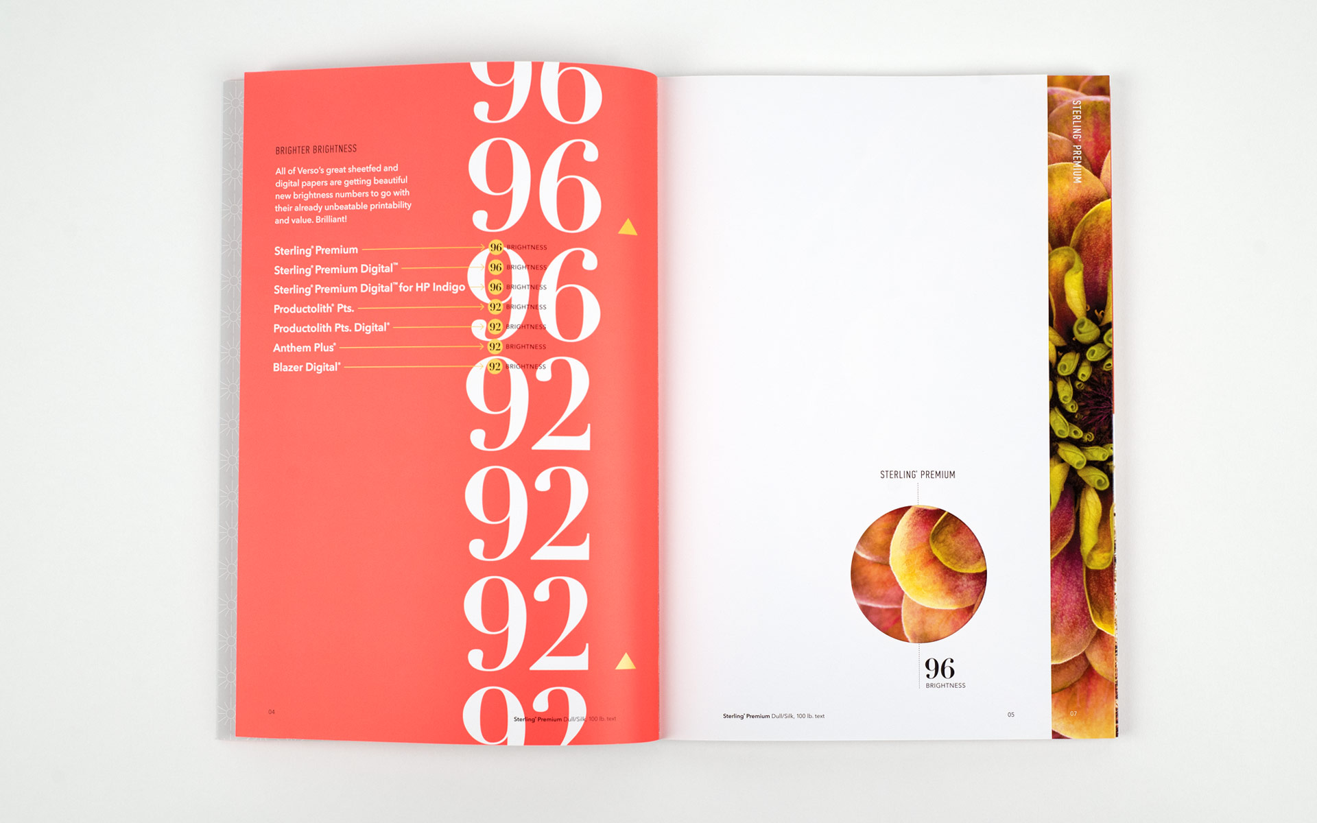 Verso Brilliantly Brighter Brochure