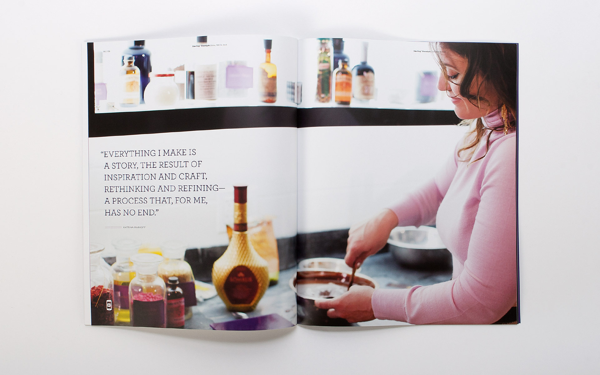 Verso Vosges SP Promotion spread 3